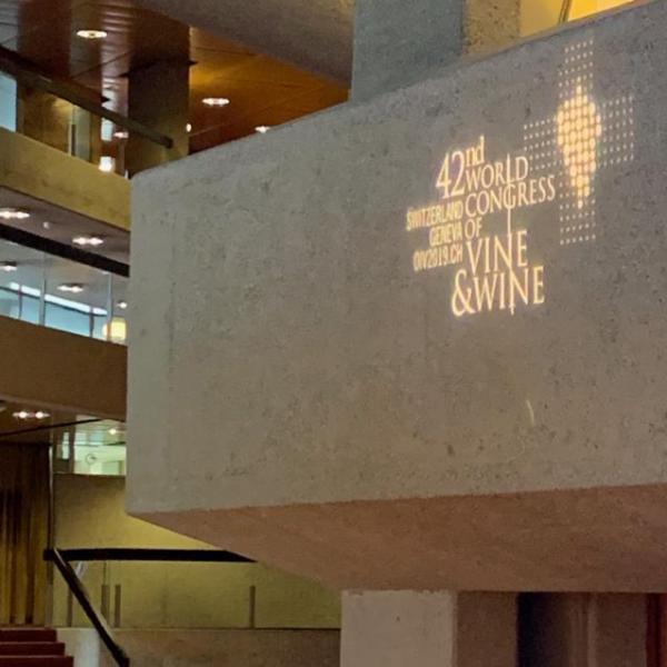FELCO-Sponsoring beim 42. Weltkongress für Rebe und Wein