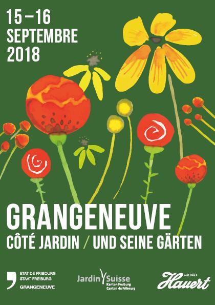 Grangeneuve côté jardin du 14 au 16 Septembre