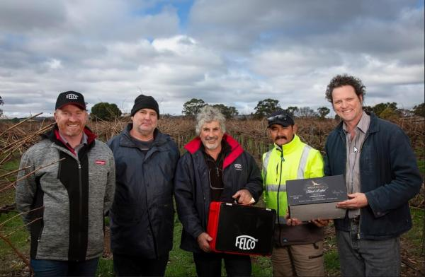 FELCO in Barossa Pruning Expo and South Australian Pruning Championships