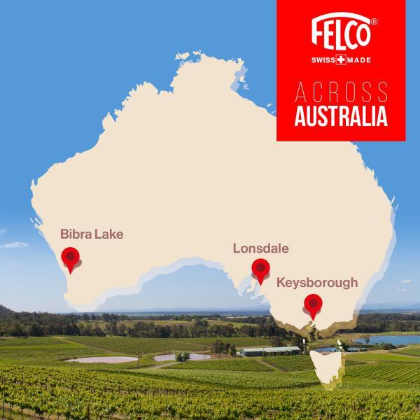 FELCO & Heiniger Partner in Australia!