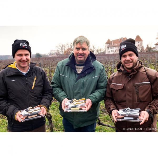 Premier concours national de taille viticole